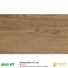 Sàn nhựa dán keo Ecost EC303 | 3mm