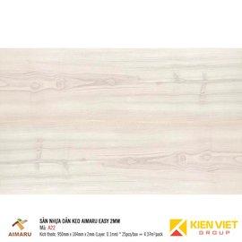 Sàn nhựa dán keo vân gỗ Aimaru A22 | 2mm