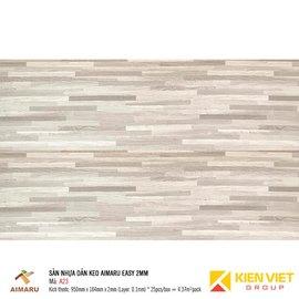 Sàn nhựa dán keo vân gỗ Aimaru A23 | 2mm