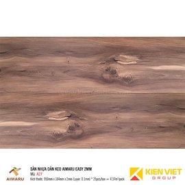 Sàn nhựa dán keo vân gỗ Aimaru A27 | 2mm