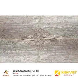 Sàn nhựa dán keo vân gỗ Aimaru A28 | 2mm
