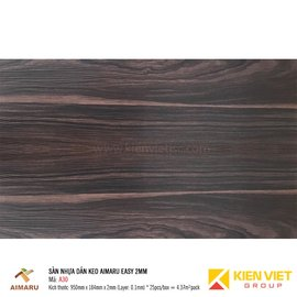 Sàn nhựa dán keo vân gỗ Aimaru A30 | 2mm