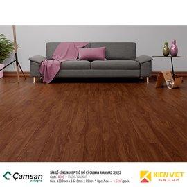Sàn gỗ công nghiệp Camsan Advangard Series 4500 Italia Walnut