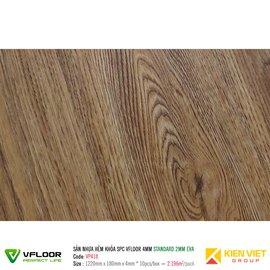 Sàn nhựa hèm khóa SPC Vfloor Standard VP418 | 4mm