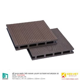 Gỗ nhựa ngoài trời Inovar Luxury Outdoor Decking WAD2266B