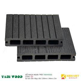 Sàn gỗ nhựa ngoài trời TABIWOOD G3