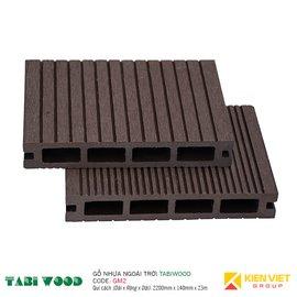 Sàn gỗ nhựa ngoài trời TABIWOOD GM2