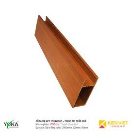 Trang trí trần nhà Yokawood - Celling | YTHO-16 100mm x 40mm