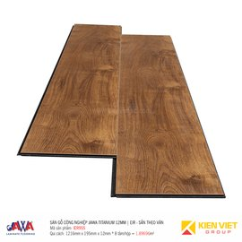 Sàn gỗ Jawa Titanium sần theo vân EIR955 | 12mm