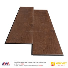 Sàn gỗ Jawa Titanium sần theo vân EIR956 | 12mm