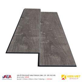 Sàn gỗ Jawa Titanium sần theo vân EIR958 | 12mm