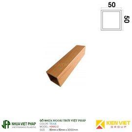Thanh hộp WPVC Việt pháp H04A3.0 | 50x50mm