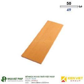 Tấm ốp phẳng WPVC Việt pháp W10A3.0 | 3x50mm