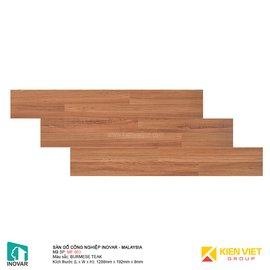 Sàn gỗ công nghiệp Inovar - Malaysia MF863 BURMESE TEAK | 8mm