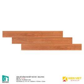 Sàn gỗ Inovar V-Groove VG330 Blanked Oka | 12mm