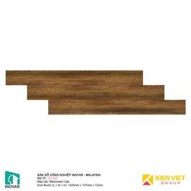 Sàn gỗ Inovar V-Groove VG332 Monumen Oak | 12mm