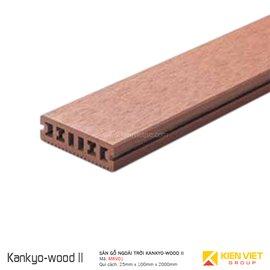 sàn gỗ ngoài trời Kankyo-wood II | MKV01