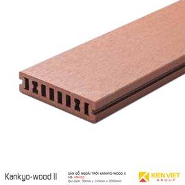Sàn gỗ ngoài trời Kankyo-wood II | MKV02