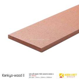 Sàn gỗ ngoài trời Kankyo-wood II | MKV03