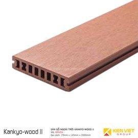 Sàn gỗ ngoài trời Kankyo-wood II | MKV04