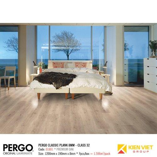 Sàn gỗ Pergo Classic Blank 01801   8mm