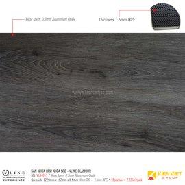 Sàn nhựa hèm khóa SPC - Vline Glamour VLS4011 | 5.5mm