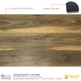 Sàn nhựa hèm khóa SPC - Vline Glamour VLS4013 | 5.5mm