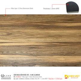 Sàn nhựa hèm khóa SPC - Vline Glamour VLS4014 | 5.5mm