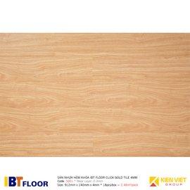 Sàn nhựa hèm khóa IBT Floor Click Gold Tile 5001 | 4mm