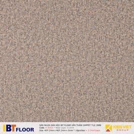 Sàn nhựa dán keo vân thảm IBT Floor IC 8005 | 3mm