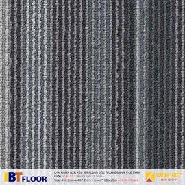Sàn nhựa dán keo vân thảm IBT Floor IC 8143 | 3mm