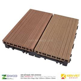 Sàn gỗ ngoà trời Zenwood ZEN-DECK 2P | 300X300mm