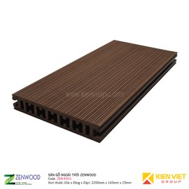 Sàn gỗ ngoài trời Zenwood ZEN-KV01 | 145x25mm