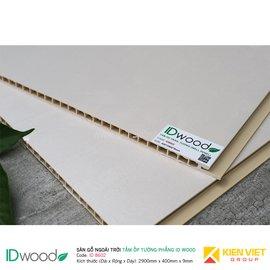 Tấm ốp tường PVC phẳng vân gỗ ID Wood ID 8602