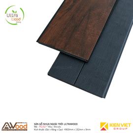 Sàn gỗ nhựa ngoài trời Awood PS152x9mm Morado