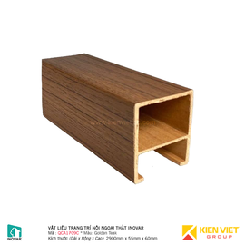 Vật liệu trang trí nội ngoại thất Inovar QCA1079C Golden Teak