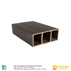 Vật liệu trang trí nội ngoại thất Inovar QTB1026C Dark Walnut