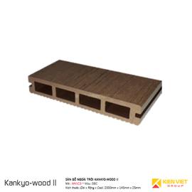 Sàn gỗ ngoà trời Kankyo-wood II | MKV23DBC 145x25mm