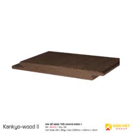 Sàn gỗ ngoà trời Kankyo-wood II | MKV24DB 150x13mm