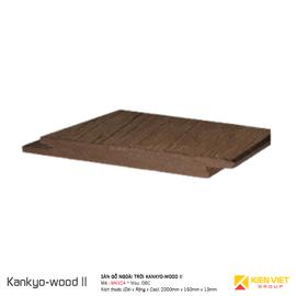 Sàn gỗ ngoà trời Kankyo-wood II | MKV24DBC 150x13mm