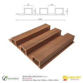 Tấm ốp trần tường Ecovina EW205T30 | 205x30mm