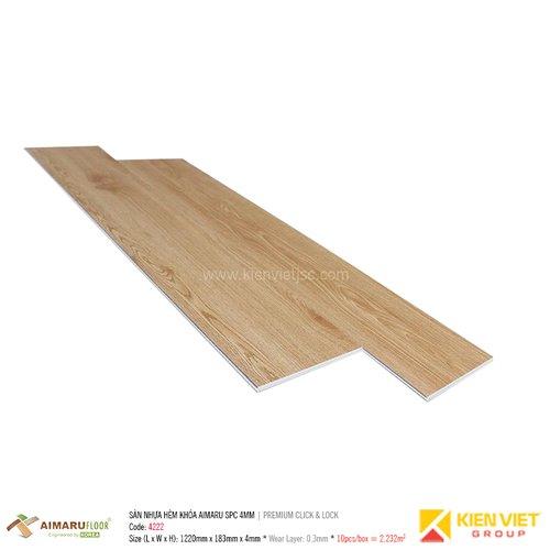 Sàn nhựa hèm khóa Aimaru SPC Premium 4222   4mm