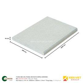Thanh sàn/bậc cầu thang xi măng Conwood Deck 8″14 mm