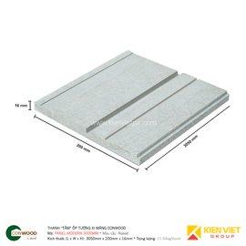Thanh tấm ốp tường xi măng Conwood Decorative Panel-Modern 3000mm