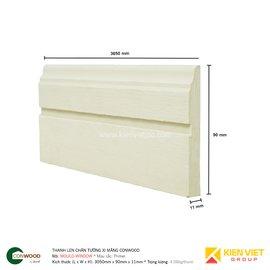 Thanh len chân tường Conwood Mould-Window 90x11mm