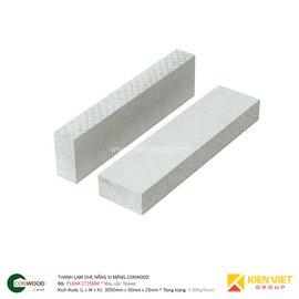 Thanh lam che nắng xi măng Conwood Plank 2″25mm | 50x25mm