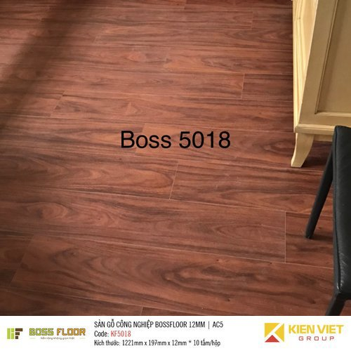 Sàn gỗ công nghiệp Bossfloor KF5018 | 12mm