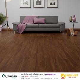 Sàn gỗ công nghiệp Camsan Avangard Plus 4500 Italyan Cevizi