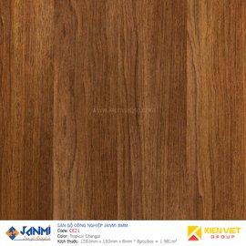 Sàn gỗ Janmi CE21 Tropical Chengal | 8mm