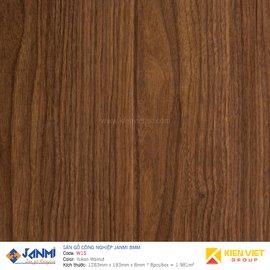 Sàn gỗ Janmi W15 Yukon Walnut | 12mm bản to